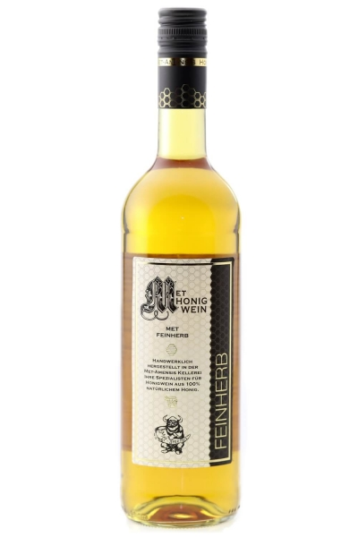 Met - Honigwein, feinherb halbtrocken, 12,5% vol. Flasche | 750 ml