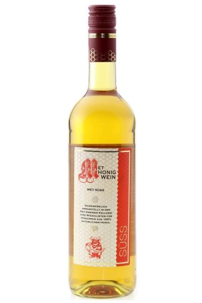 Met - Honigwein, süß, 9% vol. Flasche   750 ml