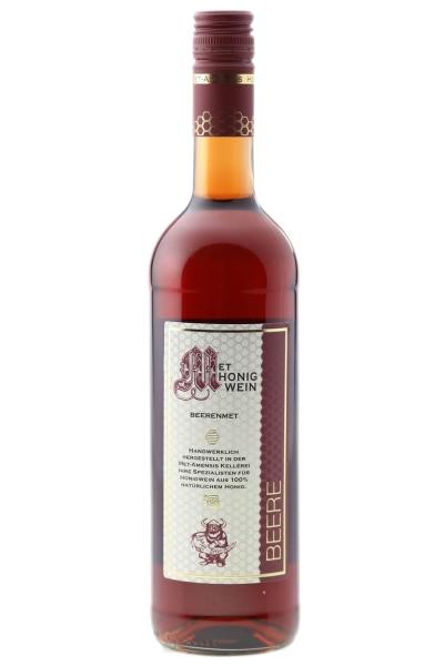 Beerenmet, Honigwein mit Waldbeeren Saft, 10% vol. Flasche | 750 ml