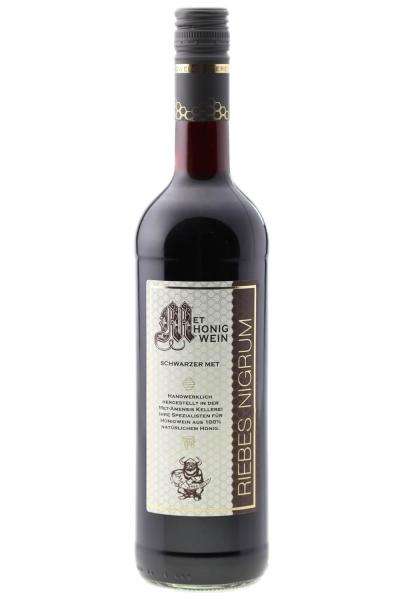 Metwein Ribes Nigrum - Honigwein mit schwarzer Johannisbeere, 10% vol. Flasche | 750 ml