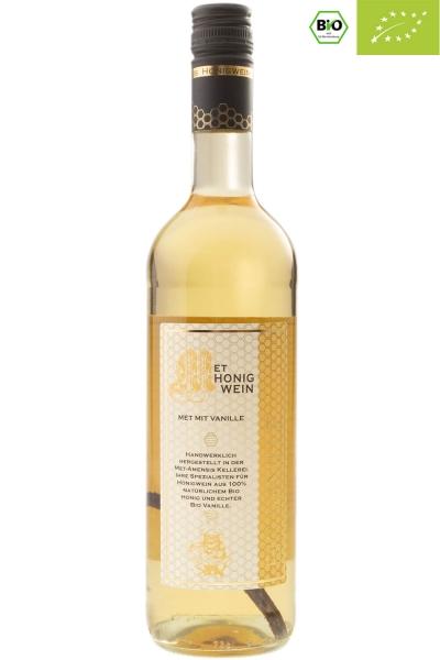 Vanillemet Bio - Honigwein mit echter Bio Vanilleschote, 11% vol. Flasche | 750 ml