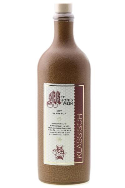 Met Honigwein - klassisch lieblich, 11% vol. Tonflasche | 750 ml