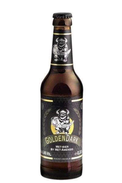 """Metbier - Honigbier """"GoldenDark"""", 6,4% vol.,  330 ml Flasche"""