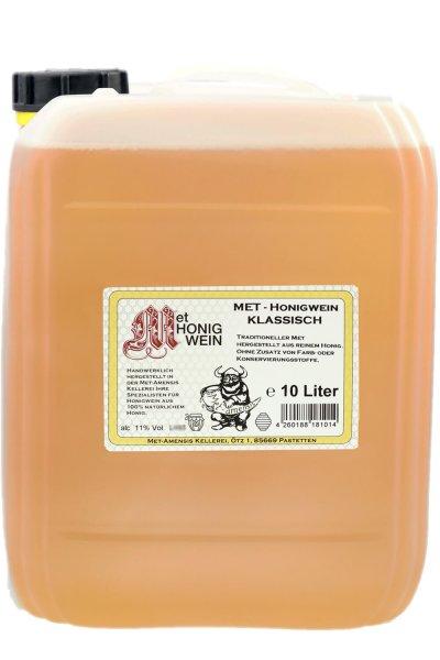 Met Honigwein Kanister - klassisch, lieblich, 11% vol., 10 Liter