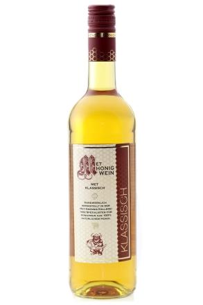 Flasche MET Amensis Honigwein | klassisch - lieblicher Honigmet, 11% vol. 750 ml