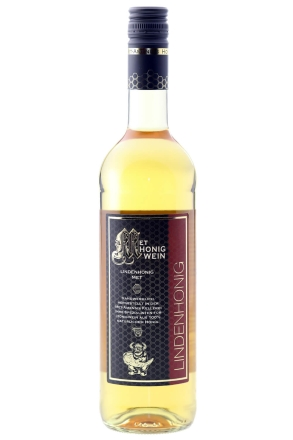 Flasche Lindenblütenhonig Met | MET Amensis Honigwein aus Lindenblütenhonig, 11% vol. | 750 ml