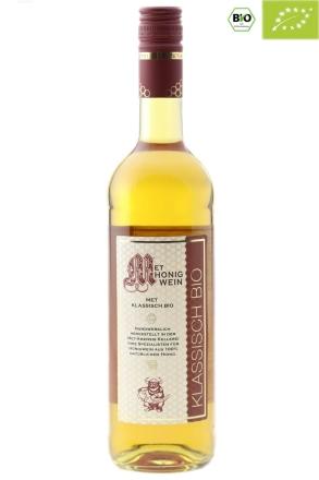 0,75 l Fl. BIO Honigwein   zertifizierter Bio Met, klassisch lieblich