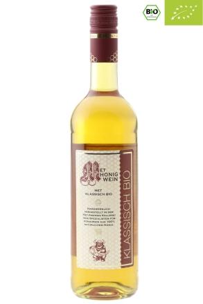Flasche BIO Honigwein | zertifizierter BIO Met, 11% vol. 750 ml
