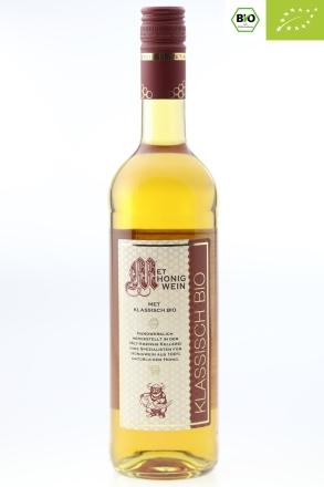 0,75 l Fl. BIO Honigwein | zertifizierter Bio Met, klassisch lieblich