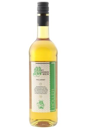 Flasche Hollermet | Honigwein mit Holunderblüte, 10% vol. | 750 ml