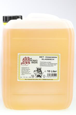 10 Liter Kanister Met klassik - lieblicher Honigwein